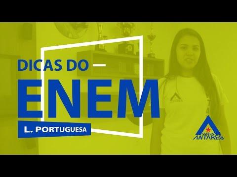 Dicas do Enem #28 - Língua Portuguesa