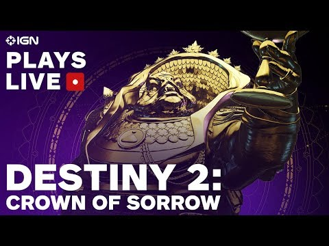 Destiny 2: Crown of Sorrow Raid Livestream - IGN Plays Live - UCKy1dAqELo0zrOtPkf0eTMw