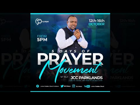Jubilee Christian Church Parklands - Prayer Movement - 16th Oct 2020  Paybill No: 545700 - A/c: JCC
