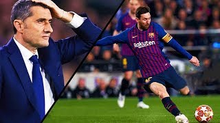 Look At These Magic Goals from Lionel Messi in 2019 - HD