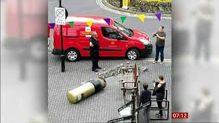 BBC breakfast : The post box is gold it indestructible, it gets knocked down it gets back up again !