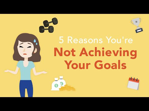5 Reasons You're Not Achieving Your Goals  Brian Tracy