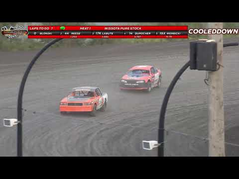 www.cooleddown.tv   LIVE LOOK IN   Weekly Racing from Victory Lane Speedway, August 26th 2021 - dirt track racing video image