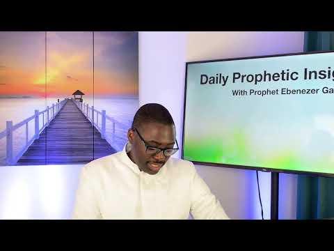 Prophetic Insight Mar 26th, 2021