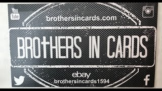 Brothers In Cards June 2019 Football - Gold Box!