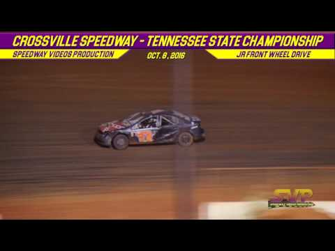 Crossville Speedway | JR FRONT WHEEL DRIVE FEATURE | Oct 8 , 2016 - dirt track racing video image