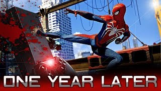 Spiderman PS4 Review ONE YEAR LATER (2019)   Was it Actually That Good?