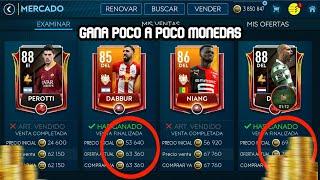 GANA MONEDAS POCO A POCO CON ESTE MÉTODO FIFA MOBILE 19/NUEVO METODO