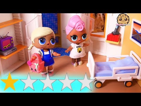 Worst Rated Best Hotel ! Weird Vacation One Star Review - LOL Surprise Dolls Play Video - UCelMeixAOTs2OQAAi9wU8-g