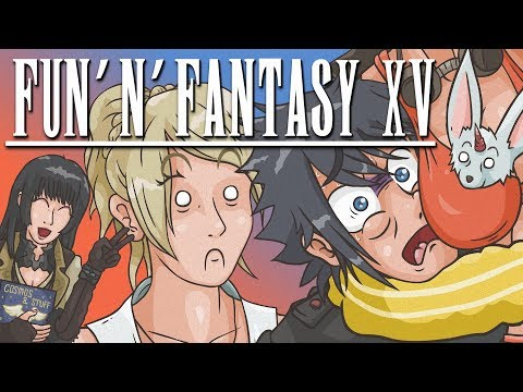 Final Fantasy 15 Funny Moments Montage Compilation | Racer lt