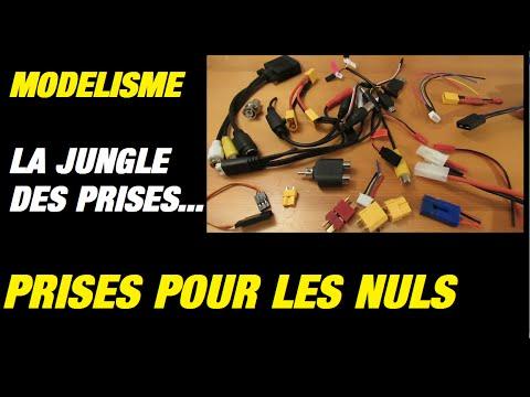 MODELISME : LA JUNGLE DES PRISES ! CONNECTEURS TUTORIEL POUR DEBUTANTS - UC4ltydtTT9HwtUI9l0kpf2Q
