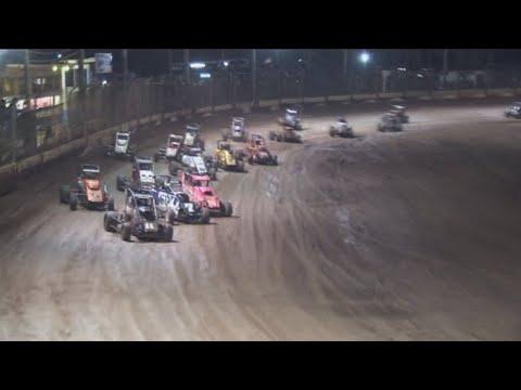 2009/10 Speedcar Super Series (Night 1): Maryborough Speedway   1st January 2010 - dirt track racing video image