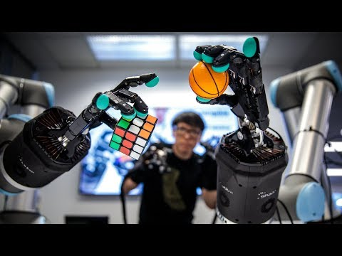 Using Haptic Gloves to Control an Amazing Telepresence Robot! - UCiDJtJKMICpb9B1qf7qjEOA