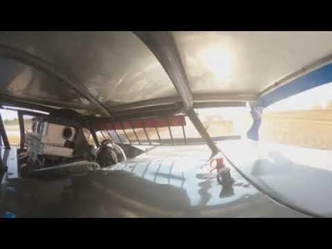 #98 Garet Jones - Midwest Modified - 9-5-2021 Springfield raceway - In Car Camera - dirt track racing video image