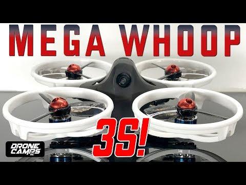 Kingkong LDARC ET115 3S! - MEGA BRUSHLESS WHOOP! - Honest Review & Flights - UCwojJxGQ0SNeVV09mKlnonA