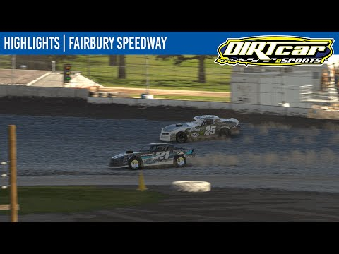 DIRTcar eSports Street Stocks Fairbury Speedway April 14, 2021 | HIGHLIGHTS - dirt track racing video image
