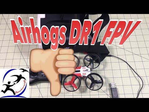 AirHog DR1 FPV Racing Drone | Wifi FPV just isn't good | There are better choices. - UCzuKp01-3GrlkohHo664aoA