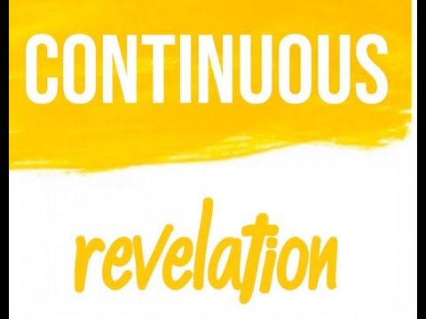 Continuous Revelation