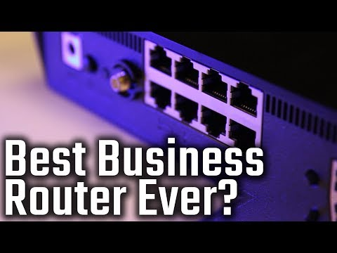 Cisco Small Business RV220W Wireless N Firewall Unboxing