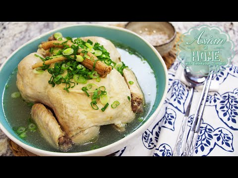 SamGyeTang Recipe : Korean Ginseng Chicken Soup, 삼계탕 (蔘鷄湯) - UCIvA9ZGeoR6CH2e0DZtvxzw