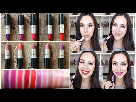Top 10 Favorite Mac Lipsticks - Mac Lipstick Collection 2015 - UCp3_Zq16GNd-uBVHM8hYQlg
