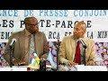 Conférence de presse conjointe Gouvernement-Minusca