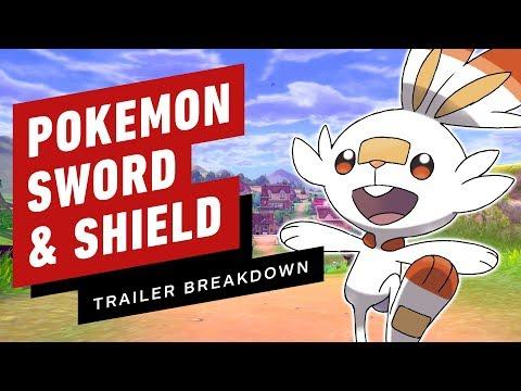 Pokemon Sword and Shield Trailer Breakdown: Gen 8 Starters, Legendary Hints & Easter Eggs - UCKy1dAqELo0zrOtPkf0eTMw