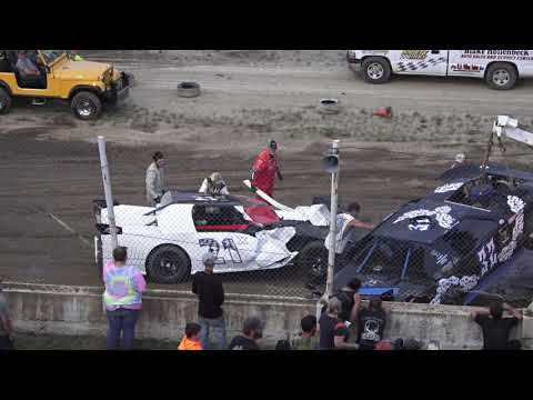 Pro Stock A-Feature at Crystal Motor Speedway, Michigan on 07-10-2021!! - dirt track racing video image