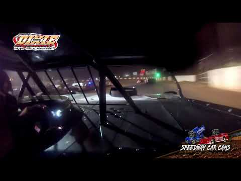 #5 Chase Oliver - Dixie Speedway 5-1-21 - 604 Crate Late Model - In-Car Camera - dirt track racing video image