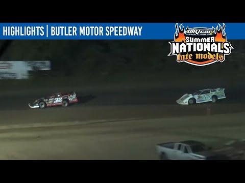 DIRTcar Summer Nationals Late Models Butler Motor Speedway August 18, 2021 | HIGHLIGHTS - dirt track racing video image