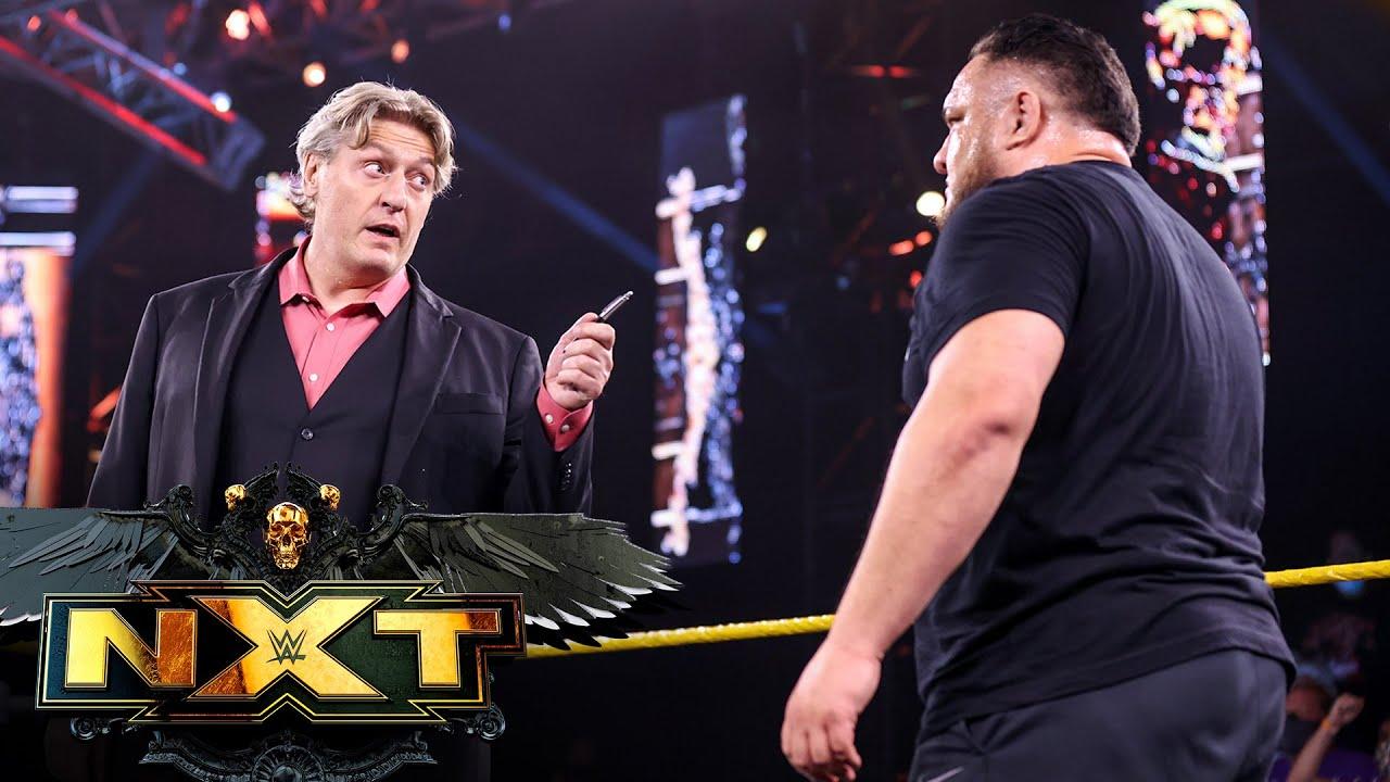 Samoa Joe strikes TakeOver bargain to face Karrion Kross: WWE NXT, July 27, 2021