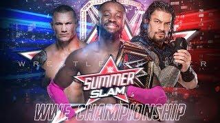 UN-CUT | Why Roman Vs Kofi Vs Orton Triple Threat Match WWE Championship : SummerSlam 2019 MatchCard