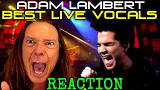 Vocal Coach Reacts to Adam Lambert's Best Live Vocals -Ken Tamplin