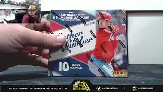 2019 Panini Leather & Lumber BB, Leaf Ultimate FB Hobby Box Live Break - Michael