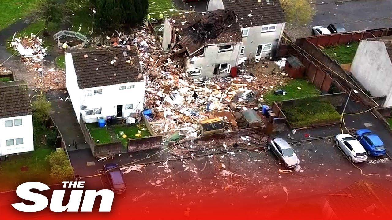 Ayr explosion – 'bomb-like' blast leaves whole family in hospital