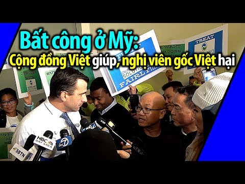 Bất công ở Mỹ: Doanh nghiệp Việt bị xử ép, cộng đồng Việt giúp, nghị viên gốc Việt hại