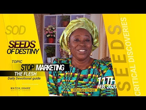 Dr Becky Paul-Enenche - SEEDS OF DESTINY - TUESDAY 11TH FEBRUARY, 2020