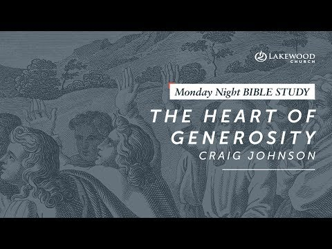 Craig Johnson - The Heart Of Generosity (2019)