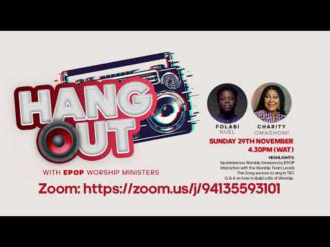 Hangout with Elevation Priests of Praise Worship Ministers.