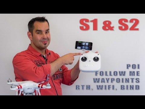 DJI Phantom 3 Standard #12 - POI, Follow Me, Waypoints und RTH mit S1 & S2 - UCfV5mhM2jKIUGaz1HQqwx7A