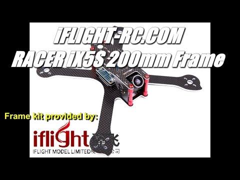 iFlight RACER iX5S 200mm FPV Racing Quadcopter Frame Kit -True Composite Frame- Review - UCV57o-UZ3ny_pn5uZTOO5oQ