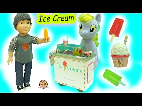 American Girl Doll Ice Cream Cart with Surprise Blind Bags &  My Little Pony Derpy - UCelMeixAOTs2OQAAi9wU8-g