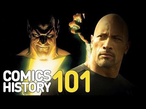 Who Is Shazam and The Rock's Black Adam? - Comics History 101 - UCKy1dAqELo0zrOtPkf0eTMw