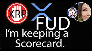 XRP a Security NOT, Lawsuit Brad Garlinghouse claims 'outrageous' , FUD Scorecard on Ripple