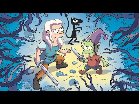 Matt Groening Reveals the Most Important Thing to Know about Disenchantment - Comic Con 2018 - UCKy1dAqELo0zrOtPkf0eTMw