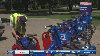 City manager discusses future of Topeka Metro Bike program, mill levy increase