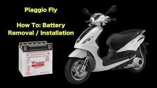 Sostituzione batteria Piaggio FLY 125
