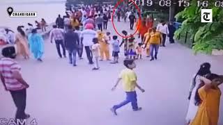 Chandigarh : Lightning claims girl's life at Sukhna Lake