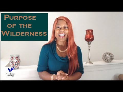 WEDNESDAY WORD - The Purpose of the Wilderness Season