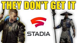 Google Stadia Is Getting Cyberpunk 2077 and Mortal Kombat 11...AND I STILL DON'T CARE!